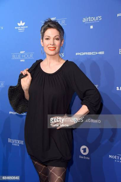 Cheryl Shepard attends the Blue Hour Reception hosted by ARD during the 67th Berlinale International Film Festival Berlin on February 10 2017 in...