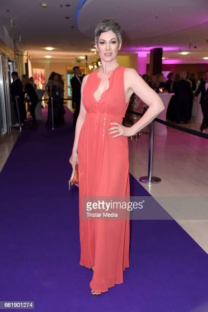 Cheryl Shepard attends the Gloria Deutscher Kosmetikpreis 2017 at Hilton Hotel on March 31 2017 in Duesseldorf Germany