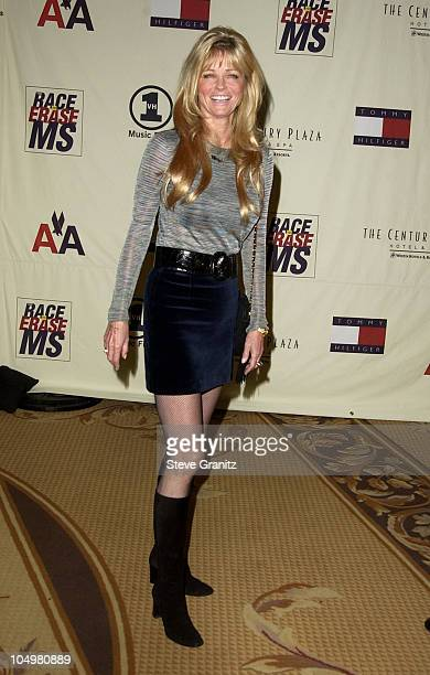 Cheryl Tiegs during The 9th Annual Race To Erase MS Dinner at Century Plaza in Century City California United States