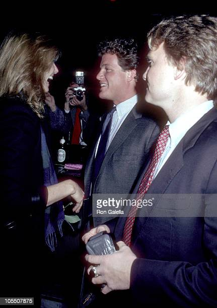 Cheryl Tiegs Ted Kennedy Jr during World Premiere of 'If I Can Do ThisI Can Do Anything' at Heartbreak Club in New York City New York United States