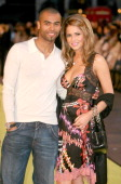 Cheryl Tweedy and Ashley Cole during 'Alien Autopsy' London Premiere Outside Arrivals at Leicester Square in London Great Britain