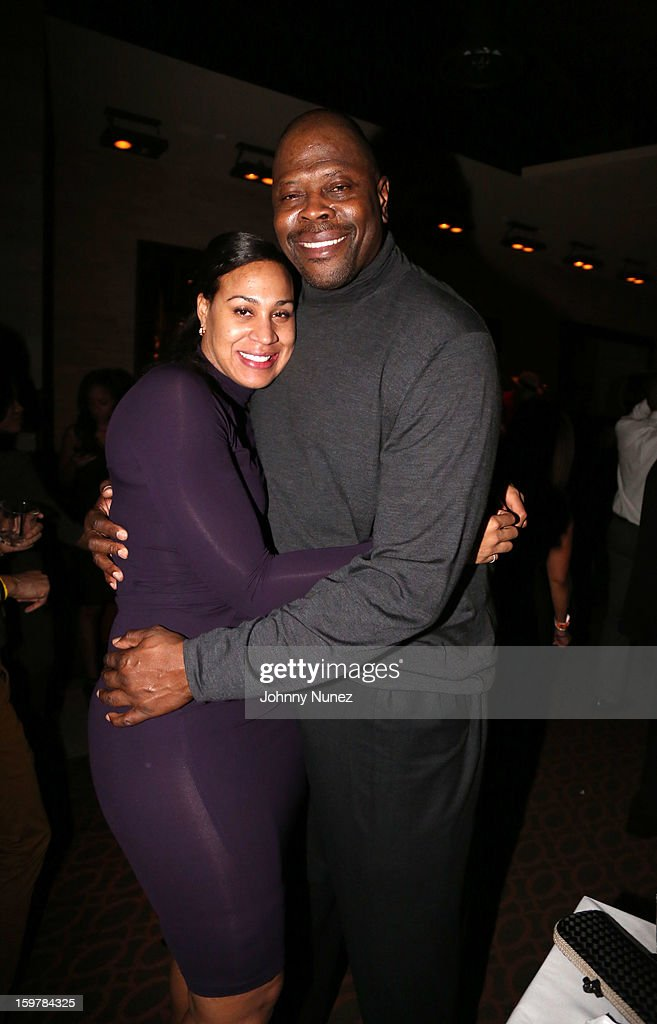 Cheryl Weaver and <a gi-track='captionPersonalityLinkClicked' href=/galleries/search?phrase=Patrick+Ewing&family=editorial&specificpeople=202881 ng-click='$event.stopPropagation()'>Patrick Ewing</a> attend the After@inauguration Celebration on January 19, 2013 in Washington, United States.