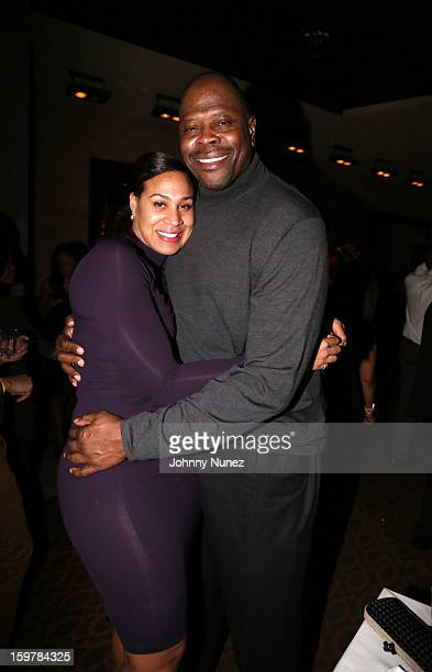 Cheryl Weaver and Patrick Ewing attend the After@inauguration Celebration on January 19 2013 in Washington United States