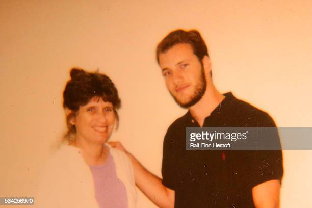 Chesa Boudin and his mother Kathy Boudin in the maximum security prison where she is serving her sentence for the killing of a Brinks guard and two...