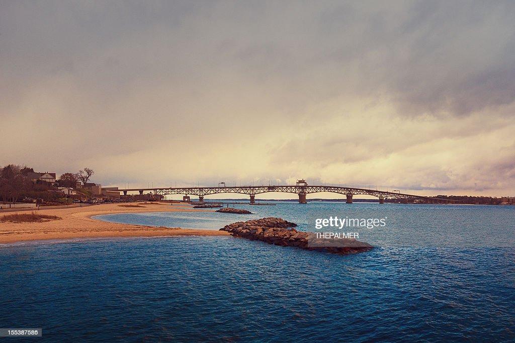 Chesapeake bay and bridge