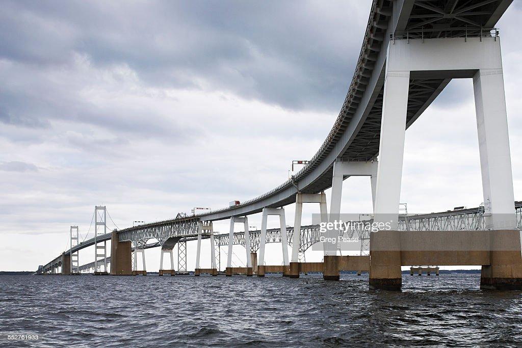 Chesapeake Bay Bridge : Stock Photo