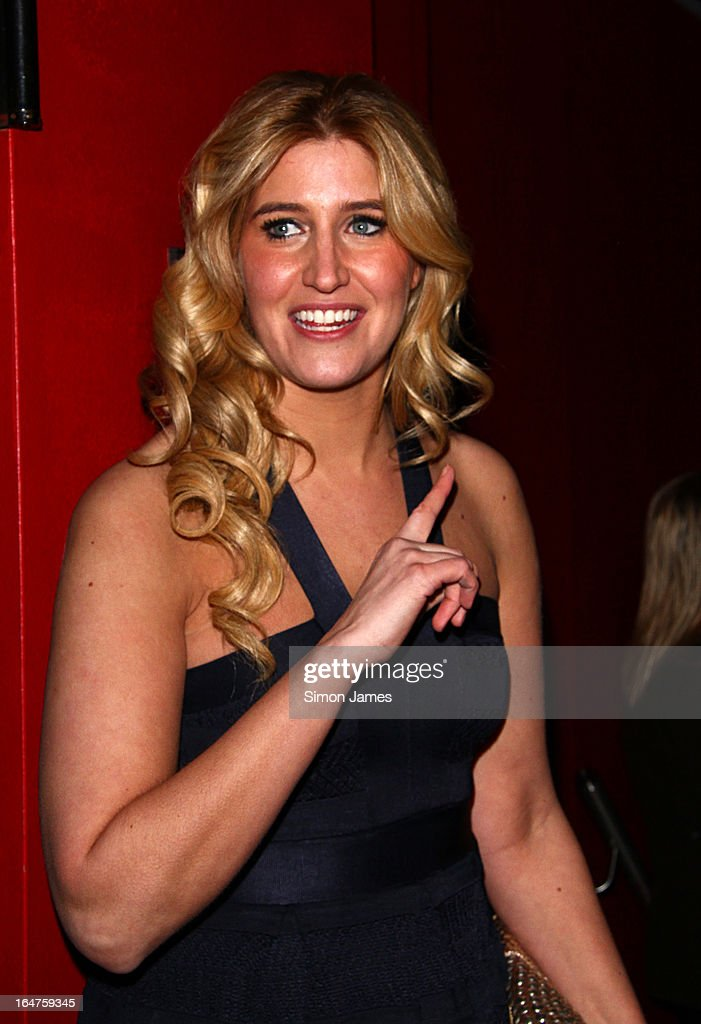 Cheska Hull sighting on March 27, 2013 in London, England.