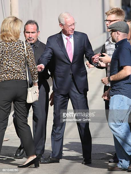 Chesley Sullenberger is seen at 'Jimmy Kimmel Live' on September 08 2016 in Los Angeles California