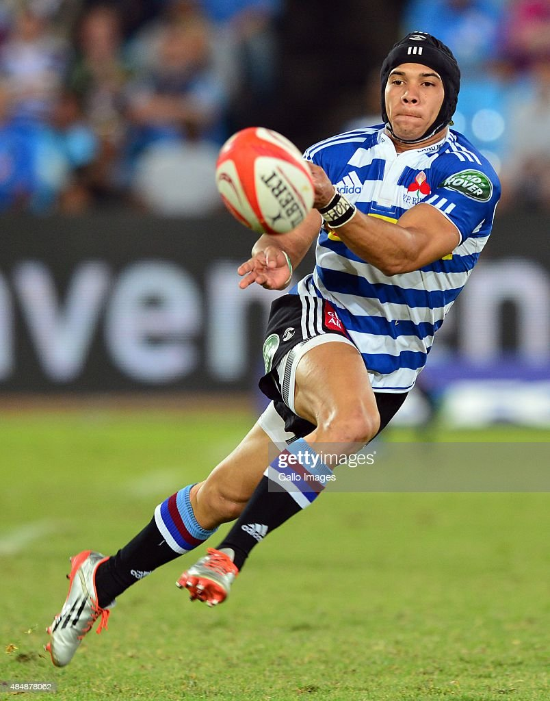 Cheslin Kolbe of Western Province during the Absa Currie Cup match between Vodacom Blue Bulls and DHL Western Province at Loftus Versfeld on August...