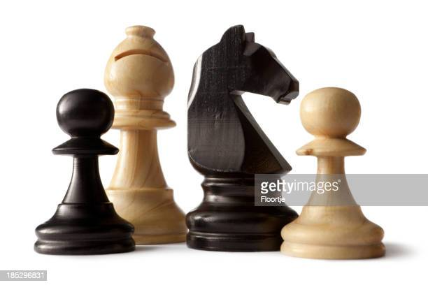 Chess: Bishop, Knight and Pawns
