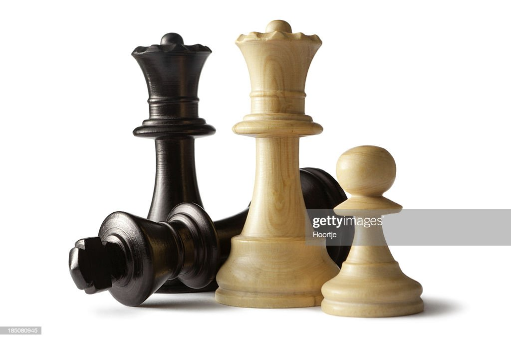 'Chess: King, Queens and Pawn'