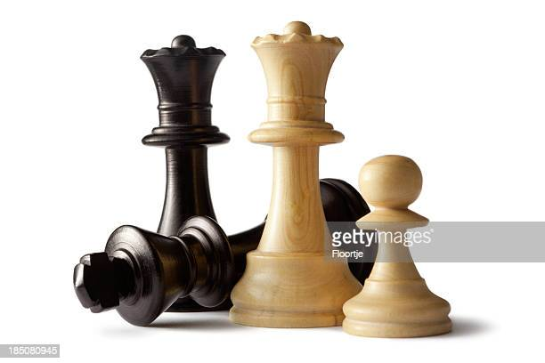 Chess: King, Queens and Pawn