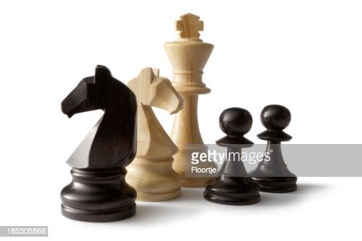 Chess: King,Knights and Pawns