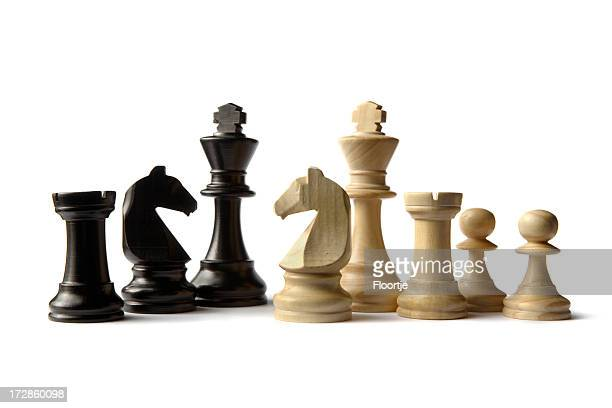 Schach: Kings, Rooks, Knights und Pawns
