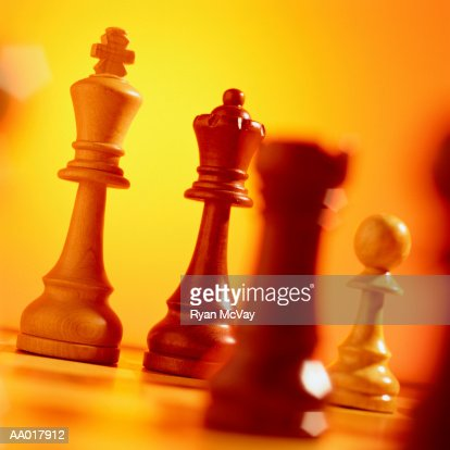 Chess Pieces : Stock Photo