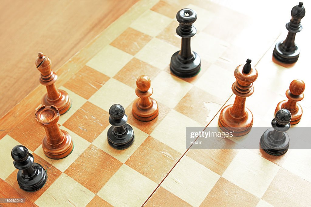 Chess problem : Stock Photo