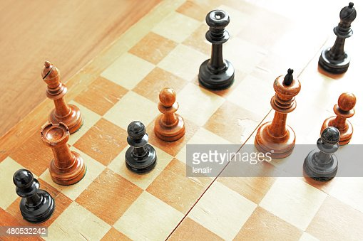 Chess problem : Stockfoto