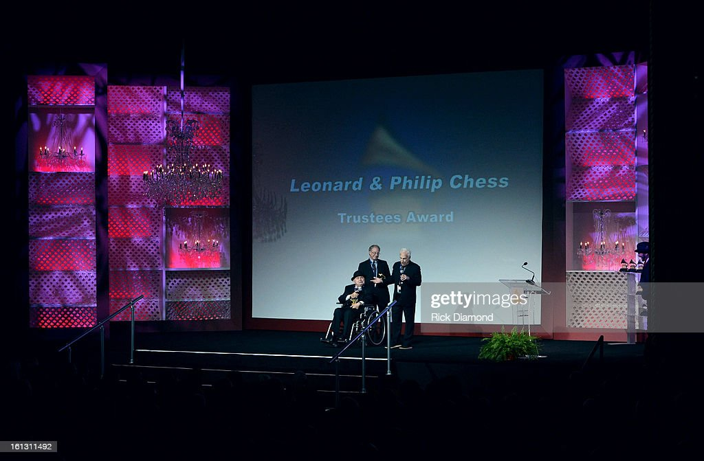 Chess Records Co-Founder Phil Chess speaks onstage during the Special Merit Awards Ceremony during the 55th Annual GRAMMY Awards at the Wilshire Ebell Theater on February 9, 2013 in Los Angeles, California.