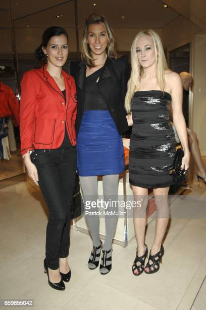 Chessy Wilson Anastasia Rogers and Dabney Mercer attend 2010 KiptonART Rising Finalists Party hosted by SAKS Longchamp and the New York Observer at...