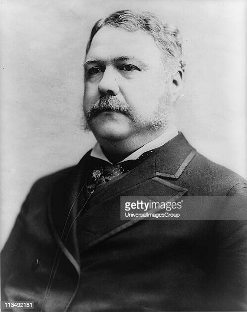 Chester Alan Arthur 21st President of the United States of America 18811885 VicePresident under President Garfield on whose assassination he...
