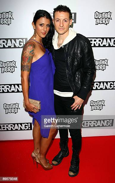 Chester Bennington of Linkin Park attends The Kerrang Awards 2009 held at The Brewery on August 3 2009 in London England