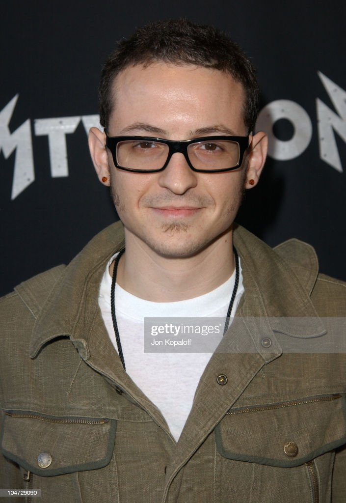 Chester Bennington of Linkin Park during MTV Icon - Metallica - Arrivals at Universal Studios Stage 12 in Universal City, CA, United States.