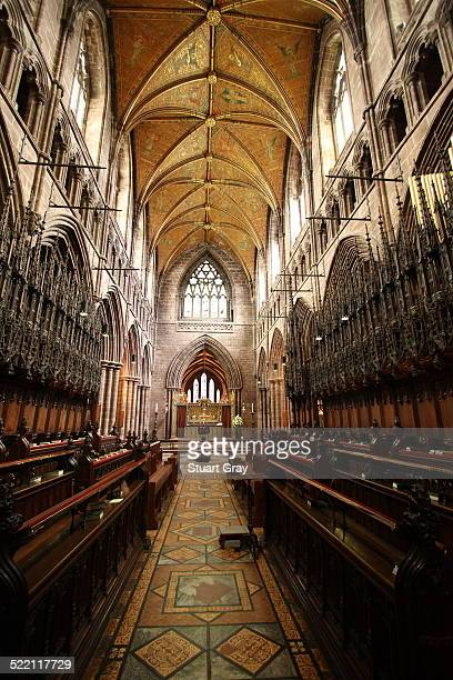 Chester Cathedral interior gothic architecture