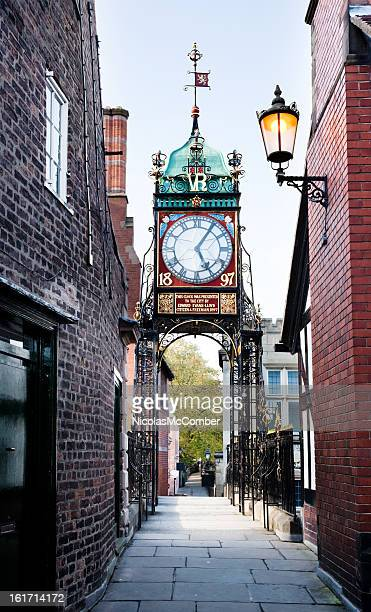 Chester Eastgate Clock from the rampart