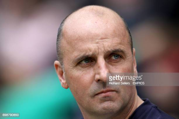 Chesterfield's manager Paul Cook