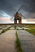 Chesterton Windmill at Sunset