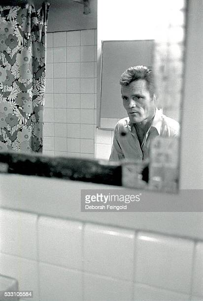 Chet Baker Looking Into Mirror