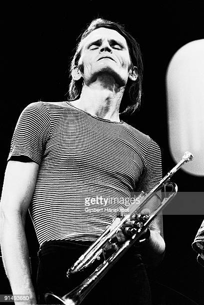 Chet Baker performs live during a TV Recording at Singer Concert Zaal Laren in Holland in 1975