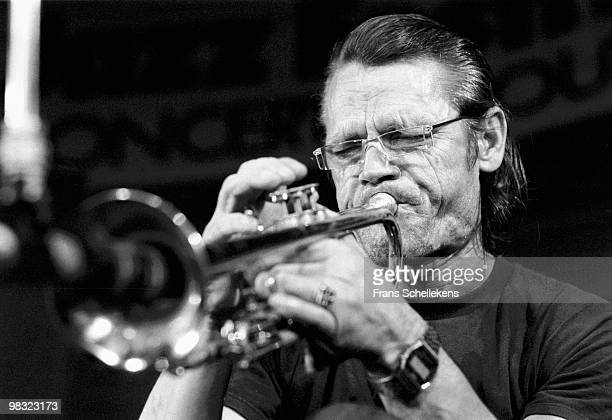 Chet Baker performs live on stage at Concertgebouw in Amsterdam Holland on July 19 1984