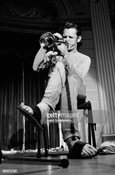 Chet Baker performs live on stage at Concertgebouw in Amsterdam Netherlands on July 19 1983
