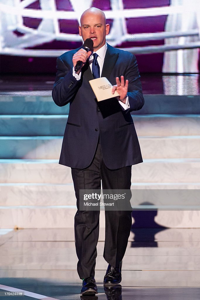 Chet Buchanan hosts the 2013 Miss USA pageant preliminary competition at PH Live at Planet Hollywood Resort & Casino on June 12, 2013 in Las Vegas, Nevada.