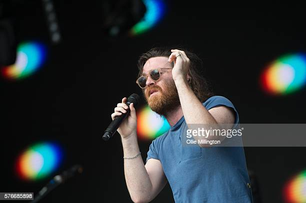 Chet Faker performs onstage on Day 2 of Lovebox Festival 20016 at Victoria Park on July 16 2016 in London England