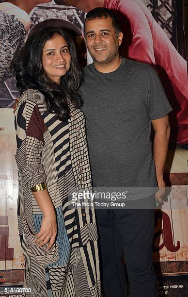 Chetan Bhagat at the special screening of the movie Ki and Ka in Mumbai