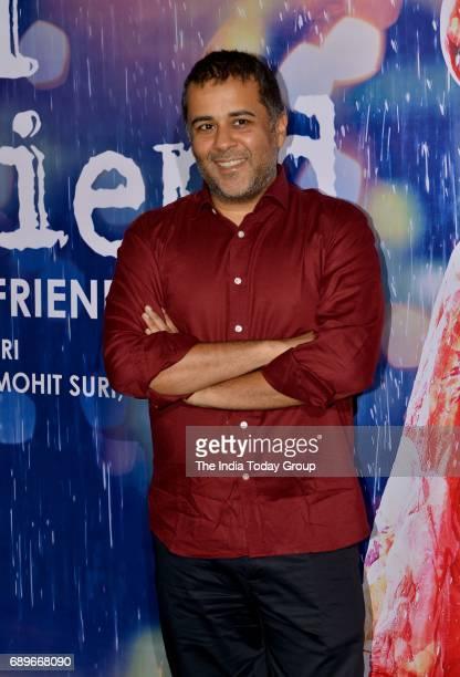 Chetan Bhagat during a success party of the film 'Half Girlfriend' in Mumbai