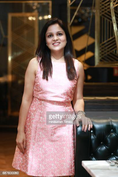 Chetna Kohli during the launch of new South American restaurant Nueva at Sangam Courtyard on May 20 2017 in New Delhi India