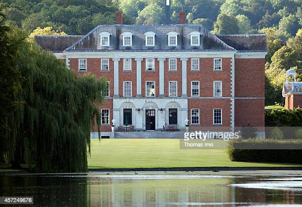 Chevening House Estate country house and official residence of the foreign secretary of the United Kingdom on August 08 in Sevenoaks United Kingdom