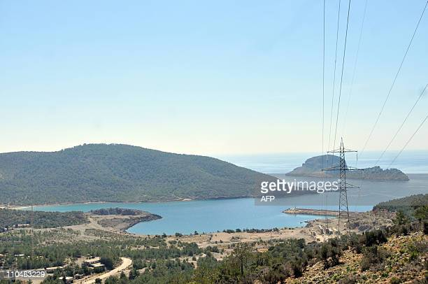 CHEVIRONThis picture taken on March 16 2011 shows the valley of Akkuyu in the southern province of Mersin near the Mediterranean Amid a worldwide...