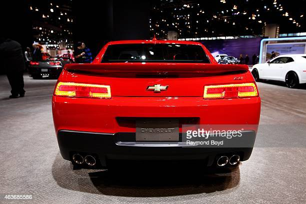 Chevrolet Camaro SS at the 107th Annual Chicago Auto Show at McCormick Place in Chicago Illinois on FEBRUARY 12 2015