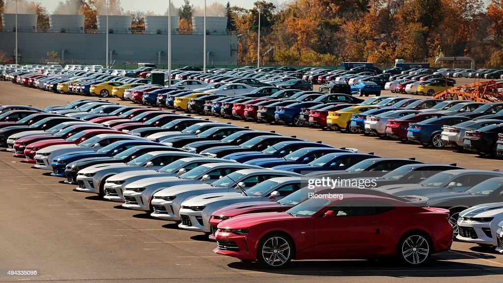 First General Motors Co 2016 Camaro Rolls Off The