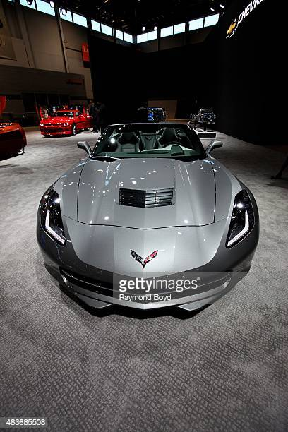 Chevrolet Corvette Stingray at the 107th Annual Chicago Auto Show at McCormick Place in Chicago Illinois on FEBRUARY 12 2015