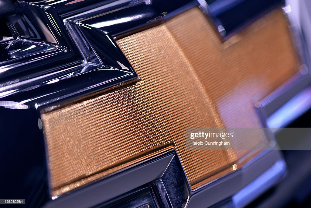 A Chevrolet logo is seen during the 83rd Geneva Motor Show on March 6, 2013 in Geneva, Switzerland. Held annually with more than 130 product premiers from the auto industry unveiled this year, the Geneva Motor Show is one of the world's five most important auto shows.
