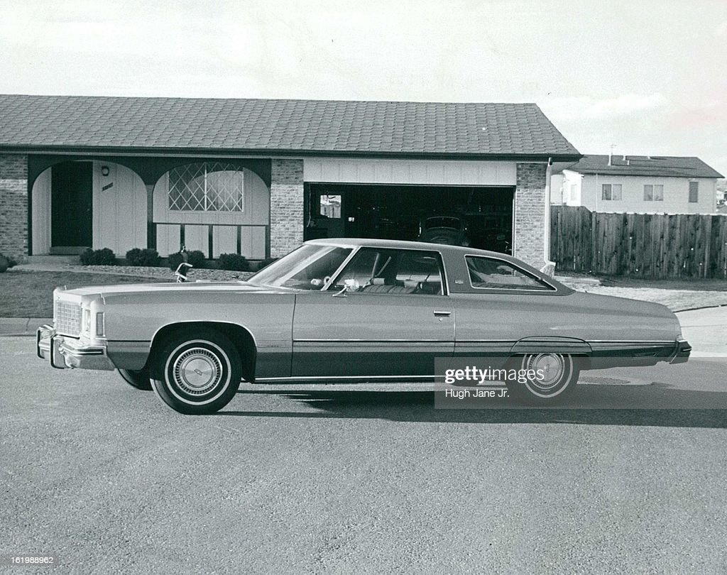 APR 4 1974 APR 7 1974 Chevrolet's Caprice Classic Is Division's Most Luxurious Vehicle