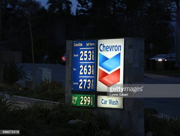 Chevron Gas Station In Thousand Oaks CA