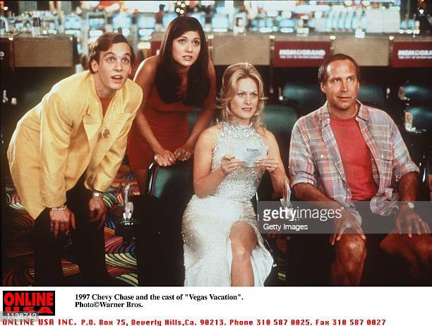 Chevy Chase and cast stars in the movie 'Vegas Vacation'