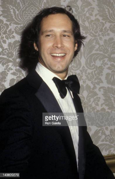 Chevy Chase attends 37th Annual Golden Globe Awards on January 26 1980 at the Beverly Hilton Hotel in Beverly Hills California