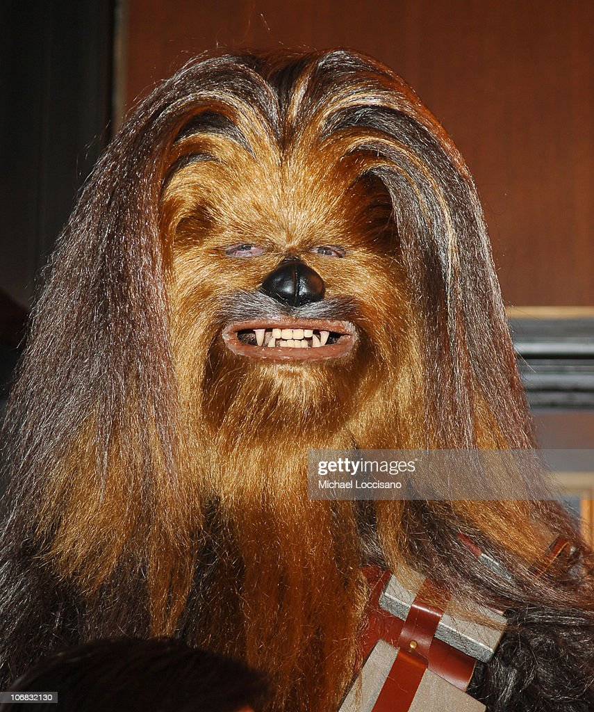 Chewbacca during 'Star Wars Episode III Revenge Of The Sith' New York City Benefit Premiere Red Carpet at The Ziegfeld Theater in New York City New...